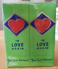In Love Again Yves Saint Laurent Eau De Toilette 2 x 100ml Spray, Erste Formel