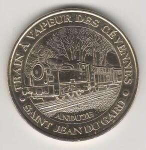 A 2006 TOKEN MEDAILLE MONNAIE DE PARIS - 30 270 N°1 ST-JEAN DU GARD TRAIN VAPEUR