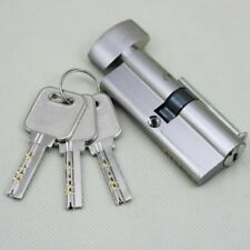 Silver Cylinder Hardware Indoor Aluminum Home Security Door Lock&