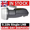 0.1dB SINGLE UNIVERSAL LNB HD / 3D READY SATELLITE DISH  HOTBIRD ASTRA19 +MORE