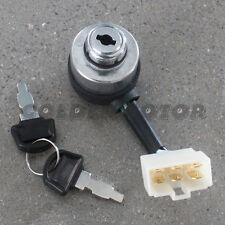 6-Wire Generator Ignition Key Switch & 2 Keys For Portable Generator PG6WIKWELEC