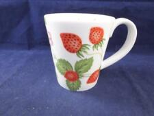 Unboxed Wedgwood Porcelain & China Mug Wild Strawberry