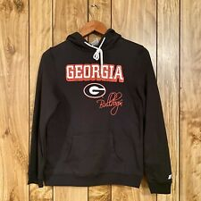Russell Athletics Georgia Bulldogs Youth Hoodie New Without Tags Black Sz Small