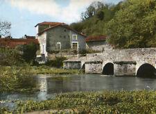 Carte ROMAGNE Le Pont de la Milière sur le Clain