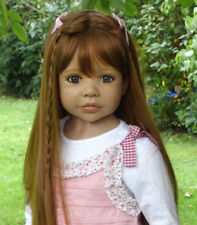 Masterpiece Dolls Candy Strawberry Blonde Wig, Fits Up To a 20-inch Head