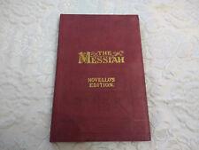 Vintage/Antique The Messiah Novello's Original Octavo Edition Book Song Sheets