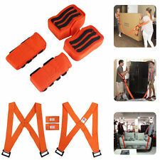 Lifting Moving Harness Shoulder Strap Lift Aid Tool Heavy Furniture Appliance US