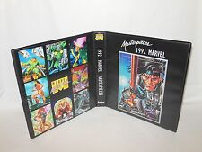 Custom Made 1992 Marvel Masterpieces Series 1 Card Binder Graphics Only Gambit