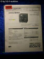 Sony Service Manual HST 414 /414L Compact Sytem (#4624)