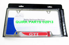 OEM NEW GENUINE VW Volkswagen GTI Polished License Plate Frame 5GV071801