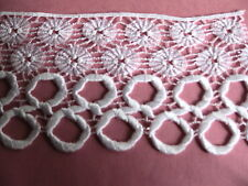 "3"" Victorian Venise Lace Trim Circle Guipure Bridal Crafts ScrapBooking #2026"