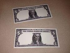 2 TWO DOLLAR BILLS MILEY CYRUS STAGE USED DOLLARS BANGERZ TOUR! MERCHANDISE VIP!