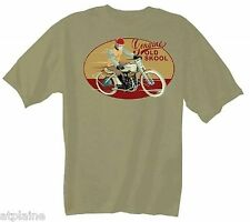 T-Shirt MC GENUINE OLD SKOOL - Taille L - Style BIKER HARLEY