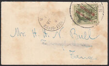 Marokko kleiner alter Brief nach Tanger