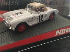 NINCO #50529 Chevy Corvette White #12  Panamerica
