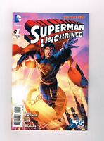 SUPERMAN UNCHAINED #1 Limited edition variant by Brett Booth! NM