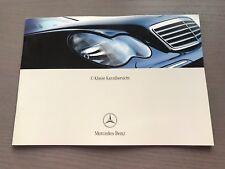 Mercedes W203 C Klasse Kurzübersicht Betriebsanleitung Anleitung