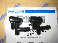 2 Lincoln LS Windshield Washer Squirter Nozzle Spray Jets OEM New 2000-2002