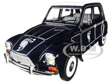 1977 Citroen Dyane 6 Caban Dark Blue 1/18 Diecast Model Car By Norev 181622