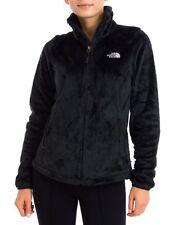 New The North Face Womens Osito 2 Black Zip Up Raschel Fleece Winter Jacket XL