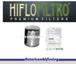 Filtro de Aceite HF171C Cromado Harley Davidson FLHRI FLHRCI Road King Clásico