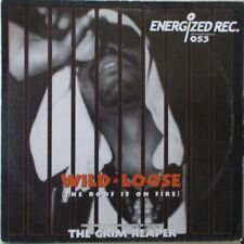 "THE GRIM REAPER - Wild & Loose ~ 12"" Single PS"