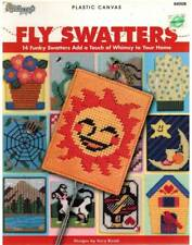 Fly Swatters 14 Plastic Canvas PATTERN Summer Bug Defender Cute Creative Quick