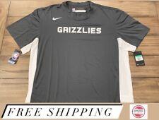 Nike NBA Memphis Grizzlies Team Issue Dri-FIT S/S Shooting Shirt Mens Sz XLT NWT