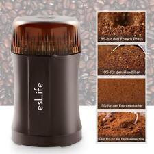 esLife Elektrische Kaffeemühle 200W Tragbar Mini Gewürzemühle für Bohne,Nüsse