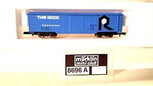 Z Scale Marklin Mini-Club 8696A The Rock Box Car LNIB