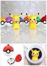 Pokemon Go Pikachu Poke Ball USB Flash Drive 32G memory stick Christmas Gift