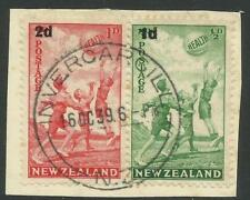 First Day of Issue Used New Zealand Stamps