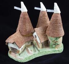 David Winter Cottages - Triple Oast 1981 Box and Certificate of Authenticity