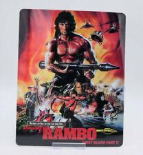 RAMBO 2 ii - Glossy Fridge / Bluray Steelbook Magnet Cover (NOT LENTICULAR)