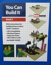 2012 YOU CAN BUILD IT BOOK 2 Joe Meno Twomorrows Pub VF+ LEGO