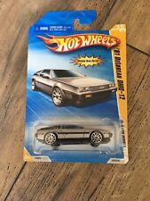 Hot Wheels '81 Delorean DMC-12 Gray 2010 New Models! NEW!!