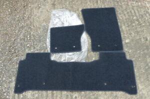 RANGE ROVER VOGUE 2013-2019 L405 CARPET FLOOR MATS CHARCOAL BLACK LHD GENUINE