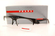 Brand New Prada Sport Linea Rossa Eyeglass Frames PS 55FV DG0 MATTE BLACK Men