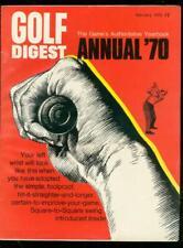 GOLF DIGEST MAGAZINE ANNUAL-1970-HIGH GRADE COPY-NICKLAUS-PGA VF