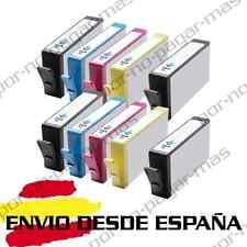 10 CARTUCHOS NON OEM PARA HP364XL HP 364 XL CON CHIP DESKJET 3070A 3520 3522