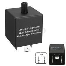 12V 3 Pin LED Adjustable Car Flasher Flash Relay For Turn Signal Light Indicator