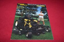 Cub Cadet Commercial Equipment Buyers Guide For 2002 Dealers Brochure YABE14