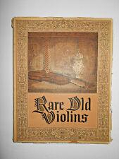 "Antique Old Vintage ""Lyon & Healy 1929 Rare Old Violins"" Violin Reference Book"