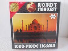 Worlds Smallest 1000 Piece Jigsaw Puzzle TAJ MAHAL Cheatwell Games - New Sealed