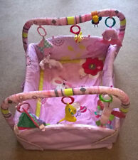 Girls 0-6 Months Mat with Gym/Arch Baby Playmats