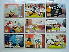 1993 UPPER DECK *ADVENTURES IN TOON WORLD* COMPLETE 90 CARD SET + 2 CHASE SETS