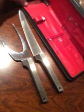VINTAGE MID-CENTURY MODERNIST EAMES ERA VERNCO HI CV KNIFE CARVING SET