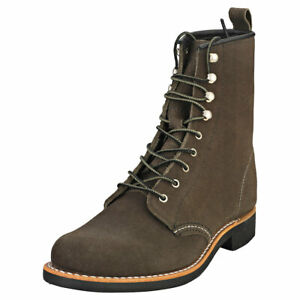 Red Wing Silversmith Femme Pewter Cuir Bottes Decontractee
