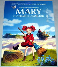 MARY & THE WiTCH'S FLOWER メアリと魔女の花 Yonebayashi Japanimation SMALL French POSTER