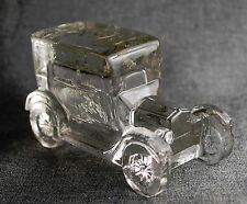 Ford Model T Circa 1925 inspired figurine in a not quite clear Glass